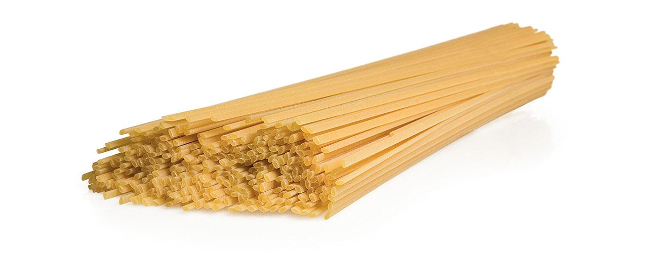Type of pasta - long   Linguine